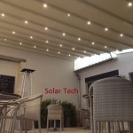 Eclairage LED Pergola