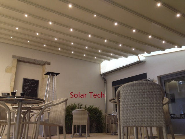 pergola et abri de terrasse store fenetre la rochelle solartech. Black Bedroom Furniture Sets. Home Design Ideas