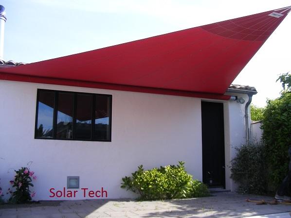 Bche Et Toile Tendu  Store Fenetre La Rochelle  Solartech