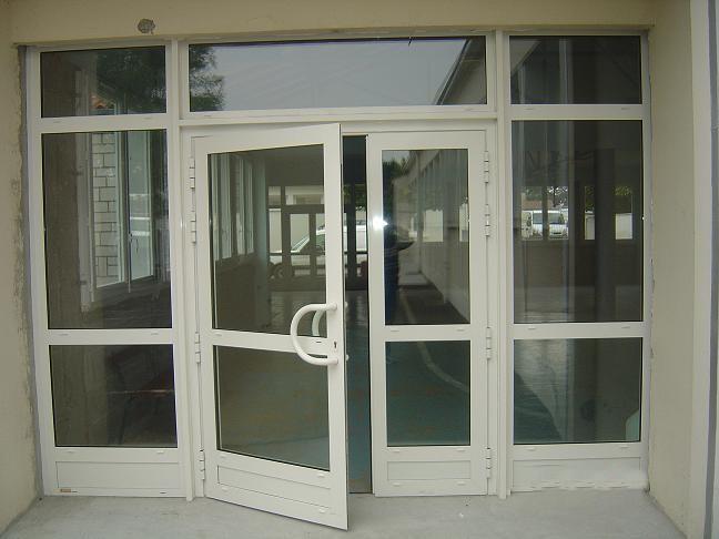 Menuiserie porte et fen tre aluminium store fenetre la for Porte aluminium
